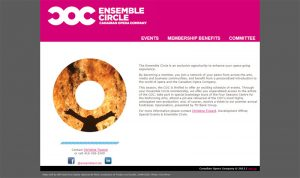 COC Ensemble Circle Microsite