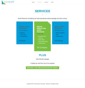 Smart Recycle Consulting Services Page